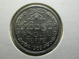 Sri Lanka 1 Rupee 1969 - Sri Lanka