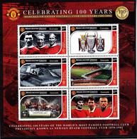 Soccer - Football -  GRENADA - Sheet MNH - Manchester United - Otros