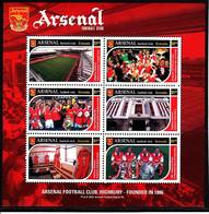 Soccer - Football -  GRENADA - Sheet MNH - Arsenal - Otros