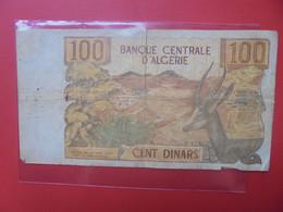 ALGERIE 100 DINARS 1970 Circuler - Algeria