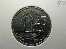 Cayman Islands 25 Cents 1987 - Cayman Islands
