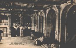 87 LIMOGES  Hall De L'Hôtel De Ville - Limoges