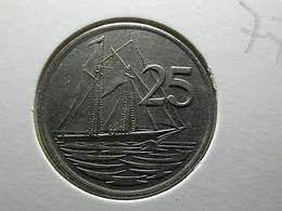 Cayman Islands 25 Cents 1977 - Cayman Islands
