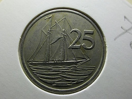 Cayman Islands 25 Cents 1972 - Cayman Islands