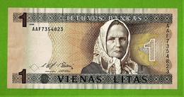 LITUANIE / VIENAS LITAS / 1 LITAS / 1994 - Lithuania