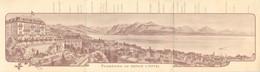 LAUSANNE -carte Dépliant, Hôtel Beau Site Et Du Belvédère, J.A.Schmidt Propriétaire... - VD Vaud