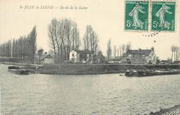 SAINT JEAN DE LOSNE - Bords De La Seine, Péniches.. - Houseboats