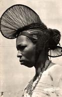 N°9525 Z -cpsm Coiffe En Cimier D'une Femme De Foutadjalon- - French Guinea