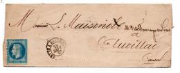 Plis / De Cette à Bordeaux    /  Pour Aurillac / 23 Septembre - 1849-1876: Klassik