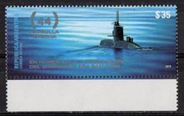 Argentina  2019. Submarine Wreck. MNH - Unused Stamps