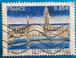 France 2017  : 500e Anniversaire De La Fondation Du Havre N° 5166 Oblitéré - Usati