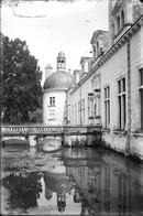 PN - 148 - INDRE ET LOIRE - CHAMPIGNY SUR VEUDE - Le Chateau - Les Douves - Original Unique - Glass Slides