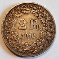 Switzerland 2 Francs 1912 - Switzerland