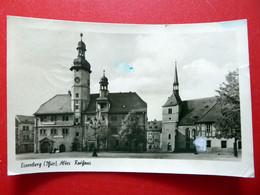 Eisenberg - Altes Rathaus - Echt Foto - Kleinformat 1954 - Thüringen - Eisenberg