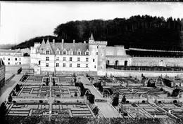 PN - 153 - INDRE ET LOIRE - VILLANDRY - Chateau Et Jardins - Original Unique - Glass Slides