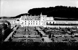 PN - 154 - INDRE ET LOIRE - VILLANDRY - Chateau Et Jardins - Original Unique - Glass Slides