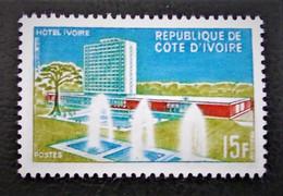 """HOTEL """"IVOIRE"""" 1966 - NEUF * - YT 248 - MI 298 - Ivory Coast (1960-...)"""