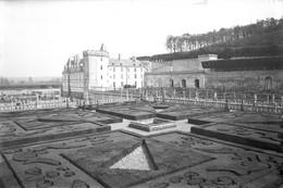 PN - 156 - INDRE ET LOIRE - VILLANDRY - Chateau Et Jardins - Original Unique - Glass Slides