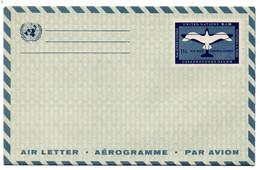 Aérogramme  / Nations Unies - ONU
