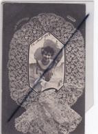 Mode - Les Dentelles ,Guipure D'Irlande (jeune Fille En Médaillon) (carte Précurseur De 1903) - Fashion