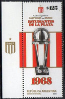 Argentina  2019.  La Plata Student Football Club Won The 1968 Intercontinental Cup.   MNH - Unused Stamps