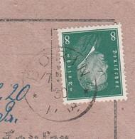 Deutsches Reich Karte Mit Tagesstempel Borin 1930 Lk Greifenhagen RB Stettin Pommern - Storia Postale