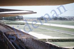 3 SLIDES 1949 HORSE RACE TRACK GAVEA RIO JANEIRO BRASIL BRAZIL AMERICA 35mm PHOTO FOTO N13 - Diapositives (slides)
