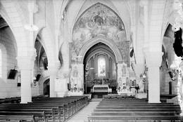 PN - 171 - INDRE ET LOIRE - MONTS - Intérieur  De L'Eglise - Original Unique - Glass Slides