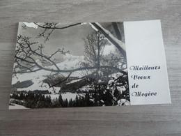 MEGEVE - Meilleurs Voeux - Année 1971 - - Año Nuevo