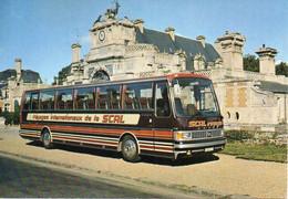 Bus, Autocar. Ah ! C'QUE C'est Chouette De Rouler Sans ESCALE Avec Les Cars Couchettes De La SCAL 28 ANET - BE - Buses & Coaches