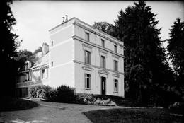 PN - 181 - INDRE ET LOIRE - RIVARENNES - Le Bâtiment Chateau De M. Leffet Député - Original Unique - Glass Slides