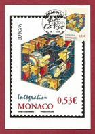 Monaco  2006  Mi.Nr. 2799 , EUROPA CEPT - Integration - Maximum Card - Stempel 05.Mai 2006 - 2006