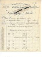 76 - Seine-maritime - ROUEN - Facture DEGLATIGNY & LARCHER - Scierie, Bois Multiples - 1904 - REF 295C - 1900 – 1949