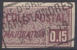 1918 FRANCE Colis Postaux  Obl 18 - Used