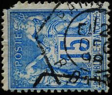 -Sage N°101  Type II  Ob  ( CAD HEXAGONAL )  PARIS R DANTIN. 1898. ( Second Choix ). - 1876-1898 Sage (Type II)