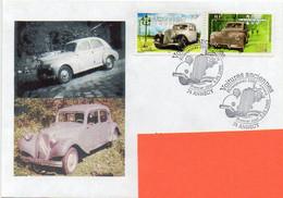 Enveloppe Premier Jour Voitures Anciennes Traction, Oblitérations Timbres 5.05.2000 ANNECY 74 - TBE - Covers & Documents
