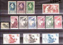France - Lot De Vignettes De Bienfaisance Des PTT - Neufs ** Et * - Collections (without Album)