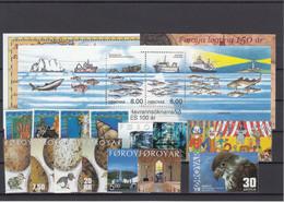 Faroe Islands 2002 - Full Year MNH ** - Faeroër