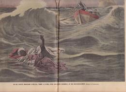 MAROC Revue Le Pélerin N° 1714 De 1909 Guerre War + Finlande En Page De Couverture - Other