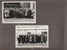 80100  ABBEVILLE -  2 PHOTOS DE GROUPE En 1958 Et 1959 - Personas Anónimos