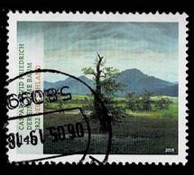 Bund 2019,Michel# 3433 O  Schätze Aus Deutschen Museen, Der Einsame Baum Von Kaspar David Friedrich - Gebraucht