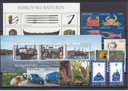 Faroe Islands 2013 - Full Year MNH ** From Year Pack - Faeroër