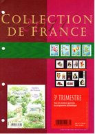"""SANS LES TIMBRES """" COLLECTION  DE  FRANCE : ANNEE 2011 3éme Trimestre """". Voir Les Scans. Parfait état. - Collections"""