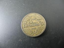Lebanon 25 Piastres 1952 - Lebanon