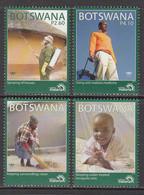 2011 Botswana Stop Malaria! Health Complete Set Of 4 MNH - Botswana (1966-...)