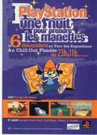 """Jeux Vidéo PlayStation """"Une Nuit Pour Prendre Les Manettes Parc Des Expositions Au Chill Out Planète - Other"""