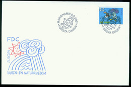 Fd Aland Islands FDC 2001 MiNr 191   Europa Cept. Water Resources. - Aland