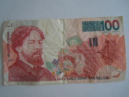 België Belgique 100 Francs Ensor 10603768160 - 100 Francs
