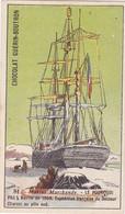 Chromo - Publicité - Chocolat Guerin Boutron -pas Sur Delc. Marine Marchande - Pourquoi Pas / Commandant Docteur Charcot - Guerin Boutron