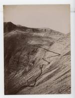 ° Chasseurs Alpins - Cantonnements Et Manoeuvres Du 7ème Groupe Alpin 1896 ° La Montée Du Col Du Crachet ....... - Guerra, Militari